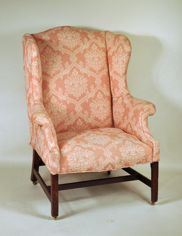 Antique Dealers Association Of America   Chippendale Mahogany Wing Chair