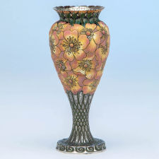"Tiffany & Co.: The ""Moss-Roses"" Vase, designed and executed for the Chicago World's Fair ""Columbian Exposition"", 1893."