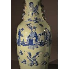 Left side vase